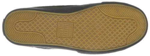 Vision Street Wear–Zapatillas de ante en color negro, de adulto