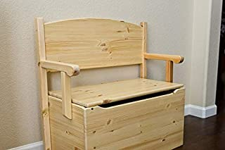 product image for Little Colorado Bench Toy Box, Espresso