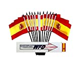 Pack of 12 4%22x6%22 Spain Polyester Min