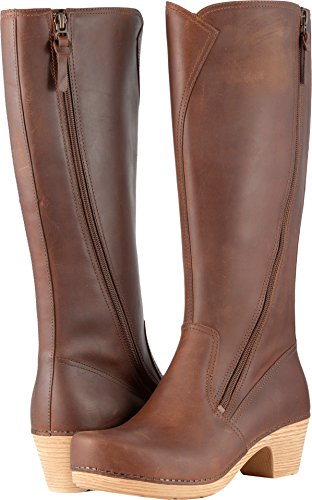Dansko Women's Martha Boot, Saddle Veg, 39 EU/8.5-9 M US by Dansko