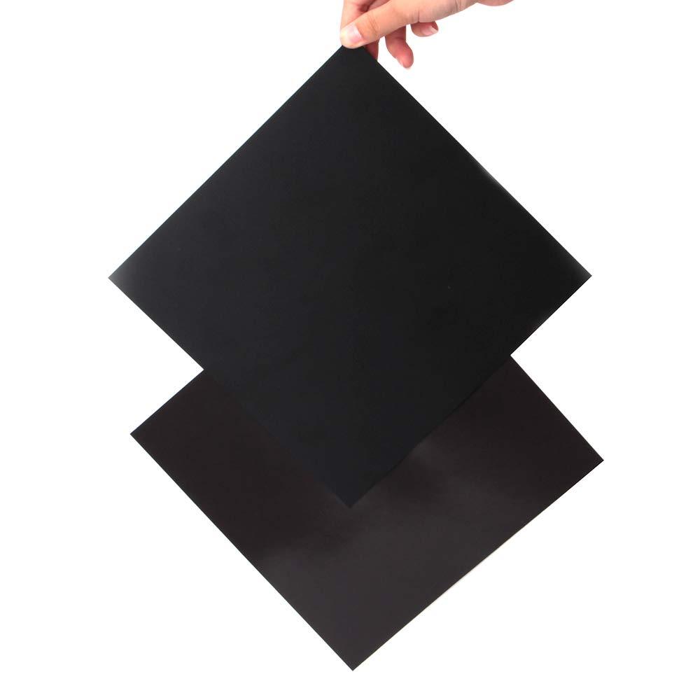 Plataforma de impresora 3D actualizada, 9.2 x 9.2 pulgadas ...