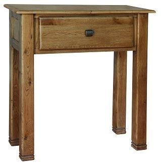 tigre en bois petite table console tiroir chne with table cuisine tiroir. Black Bedroom Furniture Sets. Home Design Ideas
