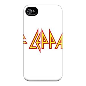 AlissaDubois iphone 6 plus 5.5 Anti-Scratch Hard Cell-phone Cases Allow Personal Design Attractive Def Leppard Band Pattern [jmZ8618lPWP]