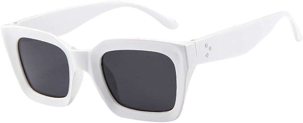 Designer Large Wrap Locs Sunglasses White Shield Retro Vintage Ladies Mens