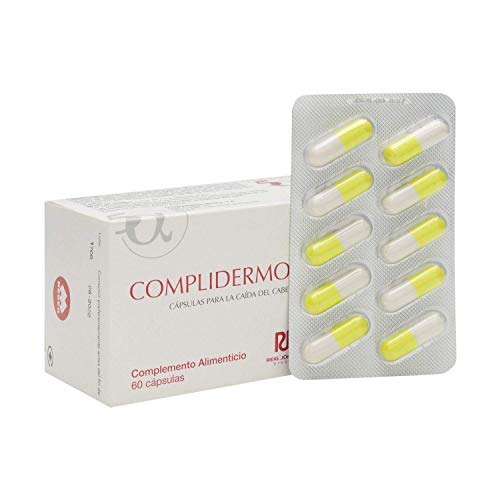 5Alfa Complidermol 60 Capsules - Hair Regrowth Treatment - Fight Alopecia And Baldness - Nail And Skin Maintenance - Spain
