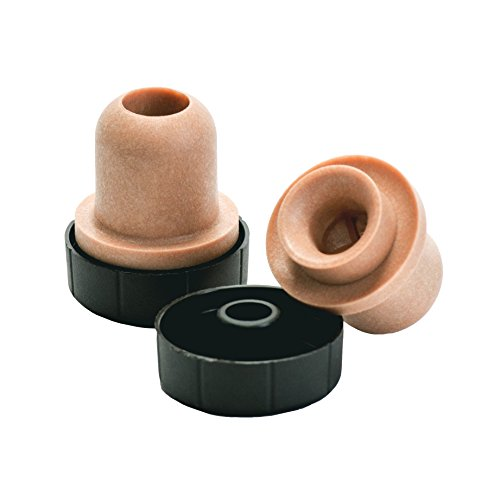 North Mountain Supply Bar Top Tasting Corks - Synthetic Pour Spout with Plastic Tops - Bag of 12 by North Mountain Supply