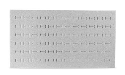 - Foam Ring Pad Standard Size Grey Tray Inserts Jewelry Display