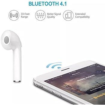 Bluetooth Earphone Mini Wireless In-Ear Headphones earbuds Bluetooth 4.1 Single Headset(right ear)