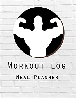 amazon workout log diet and exercise journal weight training