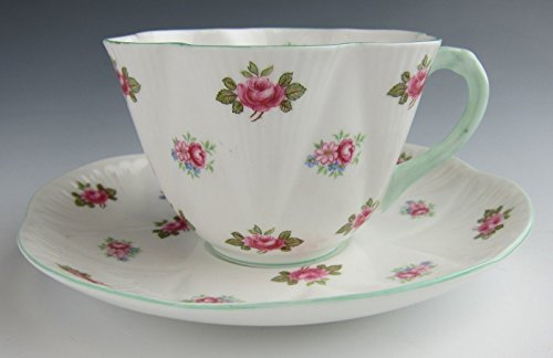 Shelley China Cup (Shelley ROSEBUD Cup and Saucer Set EXCELLENT)