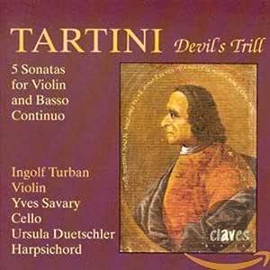 Tartini: El trino del diablo, sonatas para violin: Ingolf