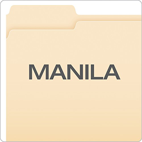 Large Product Image of Pendaflex File Folders, Letter Size, 1/3 Cut, Manila, 100 per Box (752 1/3)