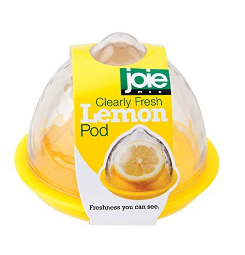 Joie Clearly Fresh Airtight Lemon Keeper Storage Container Pod by MSC (Lime Saver)