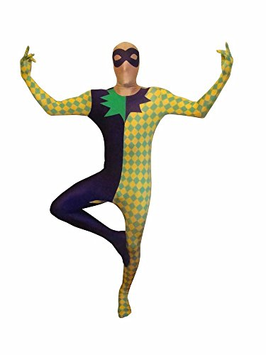 Mardi Gras DŽguisement Morphsuit s size Xlarge - 5'10-6'1 (176cm-185cm)