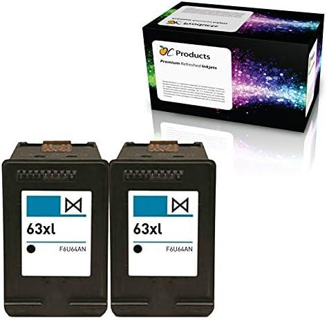 Amazon.com: ocproducts refilled HP 63 X L Cartucho de tinta ...