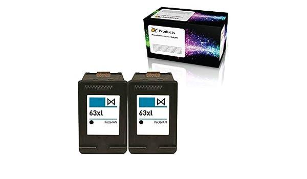 ocproducts refilled HP 63 X L Cartuchos de tinta de repuesto ...