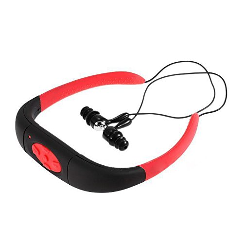 Diving MP3 Player - TOOGOO(R) Sport Waterproof 8GB Swimming Diving Underwater MP3 Player FM Radio Earphone