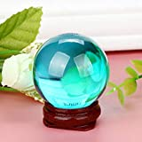 AMOFINY Home Decor HOT! 40mm Natural Quartz Magic Crystal Ball Healing Ball Sphere and Stand
