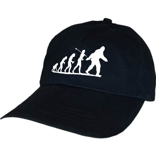Bigfoot Evolve Sasquatch Crypid Paranormal Ufo Alien Hat By Achtung T Shirt LLC