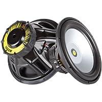 Gravity Audio 1600W Professional 15 Power Car Subwoofer 4 OHM IMPED Dual Voice Coil GR-15PW