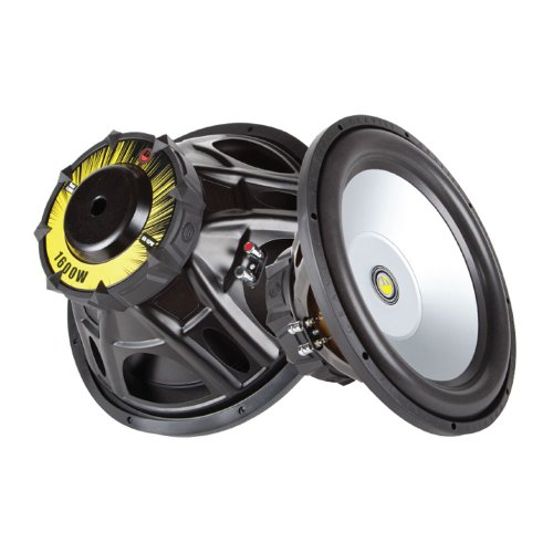 Watt Subwoofer Dual Voice Coil - Gravity Audio 1600W Professional 15