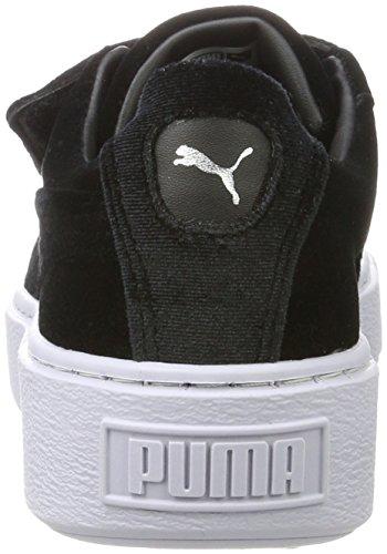 black Puma Basses Strapvr Basket Noir Platform Noir icelandicblue Sneakers Femme Black A77qw4F