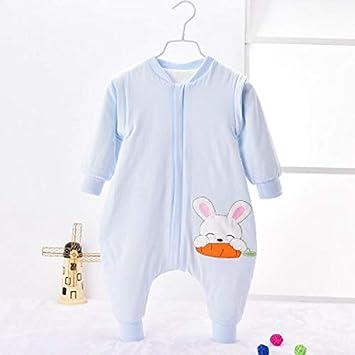 Peino Saco de Dormir, Saco de Dormir con Estampado de Conejo para recién Nacido,