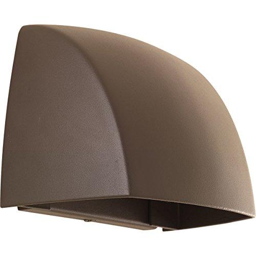 Progress Lighting P5634-2030K9 Cornice One-Light Wall Sconce with Hal Ac LED Module, Antique (1 Light Hal Wall Lamp)