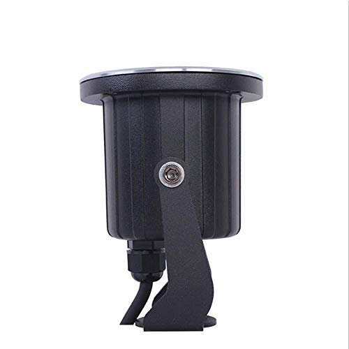 Adjustable Angle Buried Light Mini Cylindrical Lawn Lamp, Tempered Glass Support Custom Processing Waterproof Explosion-Proof ()