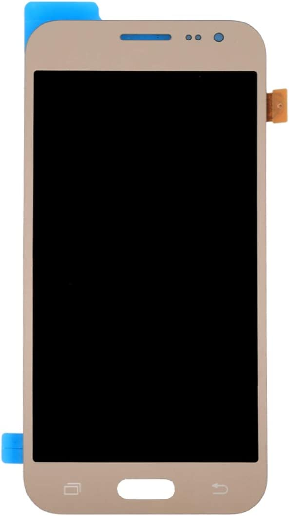 J200G Black J200F J200GU J200Y LCD Screen Mobile Phone LCD Display J200H Color : Gold Touch Panel for Galaxy J2