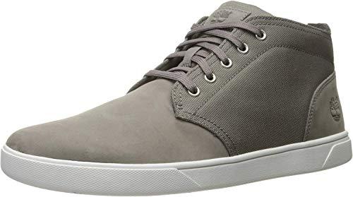 Timberland Men's Groveton LTT Chukka L/f, Steeple Grey Nubuck/Cordura, 11 M US (Zapatos Timberland Man)