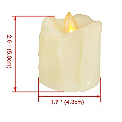 Candle Choice Flameless Candles Votive Candles wit