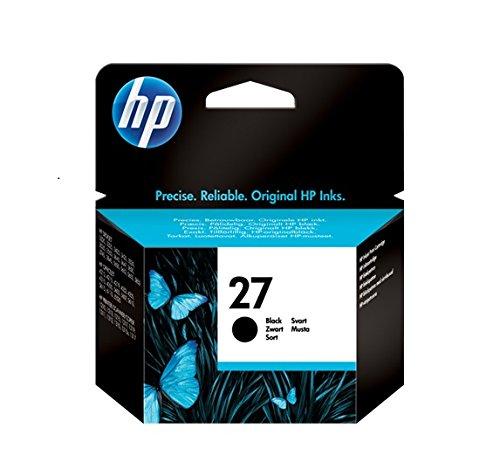 HP 27 Black Original Ink Cartridge - Black - Inkjet - 220 Page