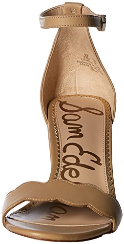 Classic Edelman Sam Sandal Odila Women's Leather Heeled Nude qvggywBaUO