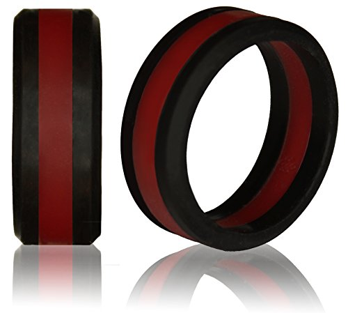 knot-theory-silicone-wedding-ring-for-men-and-women-size-11512-wider-8mm-bandwidth-black-deep-red-li