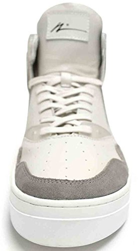 Article Number Nº 0225-0114 Mens High Top Sneakers Shoes White/Grey hmtYoMyf