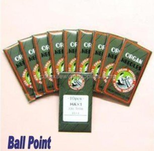 100 Ball Point 15X1 HAX1 130/705H Home Sewing Needles (Size 11 (metric 75)) (Embroidery Home Needles Machine)