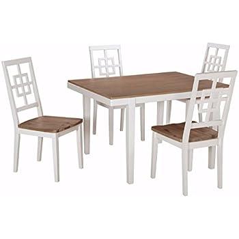 Amazon Com Powell Turino Dining Set 6 Piece Table