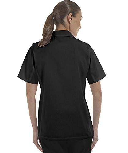 ChefUniforms.com Women's Kitchen Shirt with Mesh Sides (XS-3X, 2 Colors) (Large, Black) by ChefUniforms.com (Image #7)
