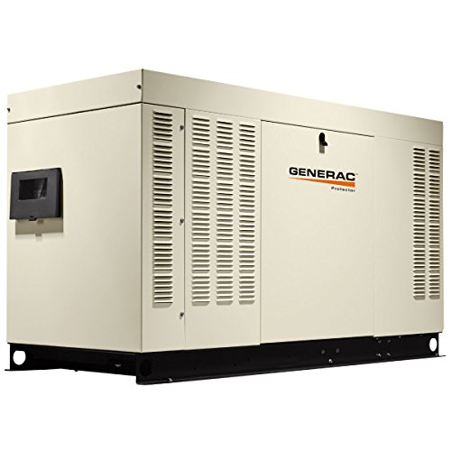 (Generac Protector Series 30kW Natural Gas or Propane Standby Generator Single Phase | RG03015A )