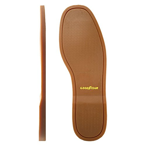 Goodyear Admiral Deck Soles Sho Repair Full Sole Replacement Color Brown Size – 9