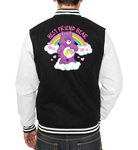 Best Friend Bear College Vest Black Certified Freak