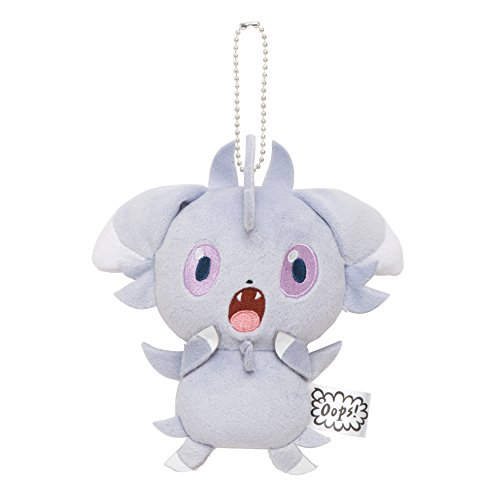 Pokemon-Center-mascota-original-llavero-Nyasupa-Ups