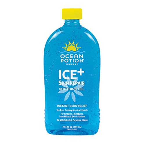 Ocean Potion Instant Burn Relief Ice-20.5 ounces