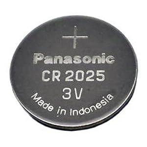 Panasonic CR2025-5 CR2025 3V Lithium Coin Battery