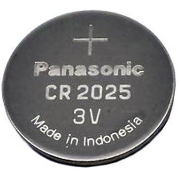 Amazon Com Panasonic Cr2025 5 Cr2025 3v Lithium Coin