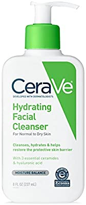 CeraVe Hydrating Facial Cleanser for Daily Face Washing