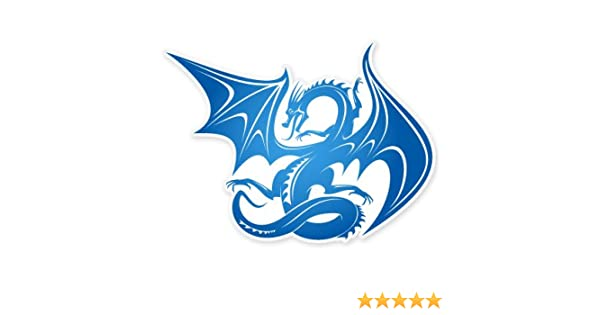Dragon on high quality Vinyl Decal Sticker BUY 2  GET 1  FREE Automatically