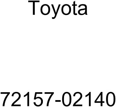 TOYOTA 72157-02140 Seat Track Bracket Cover
