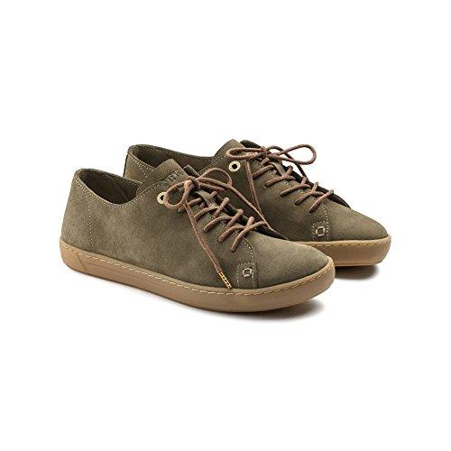 Birkenstock Arran Sneaker Suede Khaki UWcUSG